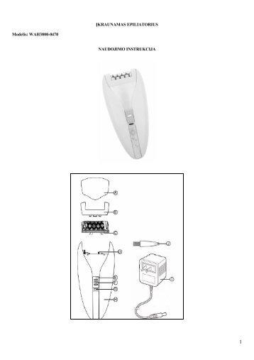 WAH3800-0470 epiliatorius.pdf - UAB Krinona - prekių instrukcijos ...