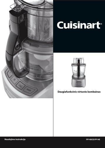 Daugiafunkcinis virtuvės kombainas - UAB Krinona - prekių ...