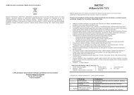 IM-7373 Mikseris.pdf - UAB Krinona - prekių instrukcijos - Krinona