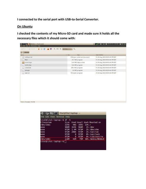 Ubuntu Serial Port