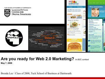 Dissertation on web 2 marketing