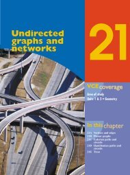 Undirected graphs and networks