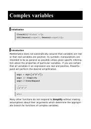 Complex variables