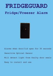 Fridge/Freezer Alarm