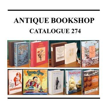 Catalogue 274 - Antique Bookshop