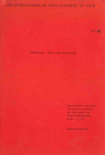 1976 nr 151.pdf - BADA - Högskolan i Borås