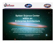 Spitzer Science Center within an Enterprise Architecture - ADASS.Org