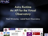 Astro Runtime An API for the Virtual Observatory - ADASS.Org