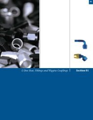 G-line Hose, Fittings and Wiggins Couplings Section:01
