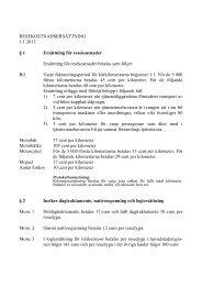 RESEKOSTNADSERSÄTTNING 1.1.2013 § 1 Ersättning ... - Sakasti
