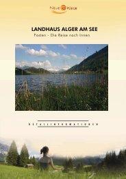 LANDHAUS ALGER AM SEE