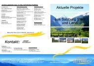 aus Salzburg Stadt und Land Aktuelle Projekte - Heimat Österreich ...