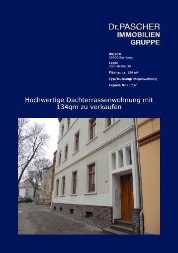 Hochwertige Dachterrassenwohnung mit 134qm zu verkaufen