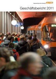 Geschäftsbericht 2011 - RBS Regionalverkehr Bern-Solothurn
