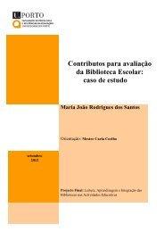 Contributos para avaliação da Biblioteca Escolar - Repositório ...
