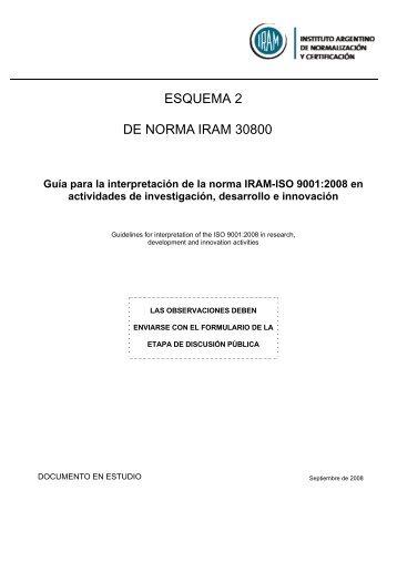 NORMA ARGENTINA - Mendoza CONICET