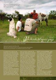 Por la ruta del aguará guazú