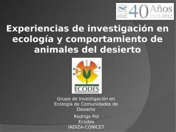 Diapositiva 1 - Mendoza CONICET