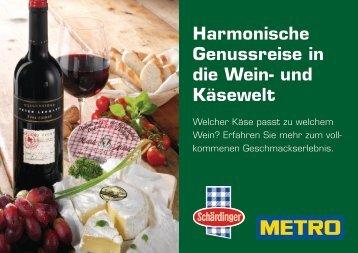 Harmonische Genussreise in die Wein- und Käsewelt