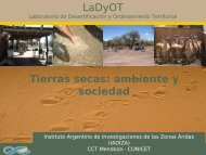 Tierras secas - Mendoza CONICET