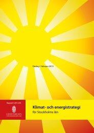 Klimat- och energistrategi