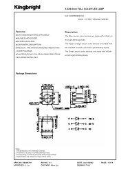 5.0X6.0mm FULL COLOR LED LAMP Description Package ...