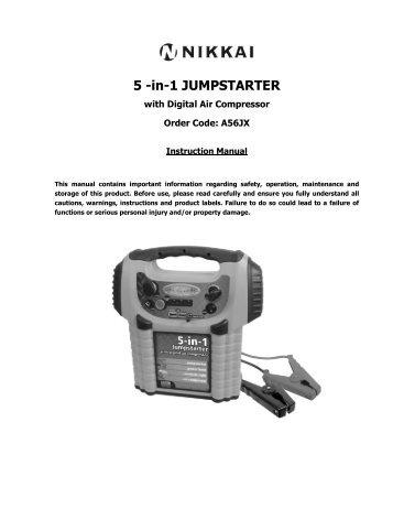 5 -in-1 JUMPSTARTER - Maplin Electronics