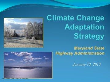 January 13, 2013 - Center for Transportation Analysis