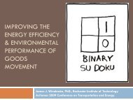 improving the energy efficiency & environmental performance of ...