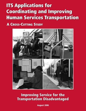 ITS Applications for Coordinating and Improving Human Services ...