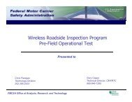 Project Overview - Center for Transportation Analysis - Oak Ridge ...