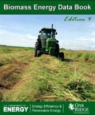 Biomass Energy Data Book: Edition 4 - Center for Transportation ...