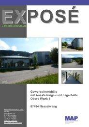 Gewerbeimmobilie mit Ausstellungs- und ... - map-suisse.com