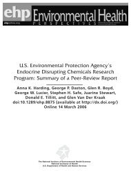 U.S. Environmental Protection Agency's Endocrine Disrupting ...