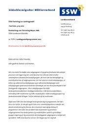 Wahlparteitag 2012 - Rede F. Meyer zum Wahlprogramm - SSW