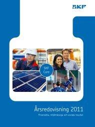 Årsredovisning 2011 - Investor relations - SKF.com