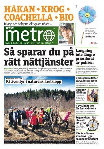 På äventyr i naturens kretslopp Langning inte längre ... - Metro