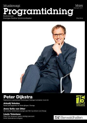Programtidning Berwaldhallen Mars 2011 (pdf) - Sveriges Radio