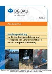 BGI 833 - beim Carl Heymanns Verlag