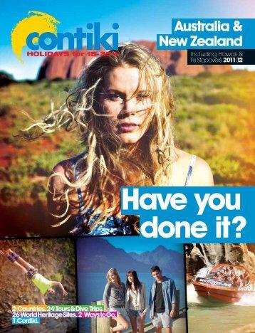 Australia & New Zealand - Contiki