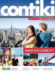 Canada - Contiki