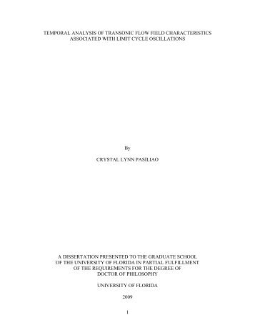 university of florida thesis or dissertation formatting template
