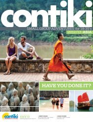 Asia - Contiki