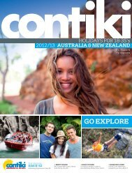 Explore more - Contiki