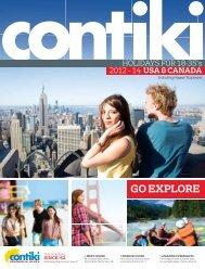 USA & Canada - Contiki