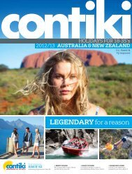 LEGENDARY for a reason - Contiki