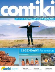 New Zealand - Contiki