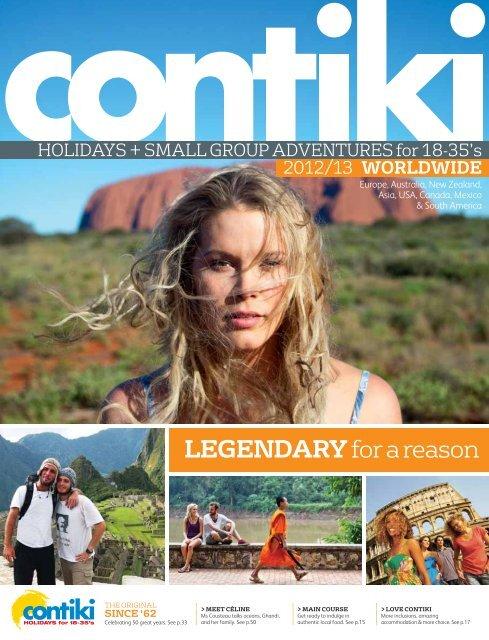 Itinerary - Contiki
