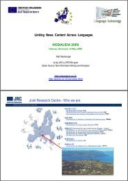 Linking News Content Across Languages - VISL