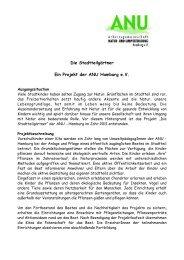 Projektbeschreibung - ANU Hamburg